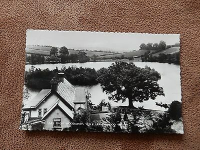 1960's Real Photo Postcard - Lake from Woodlands -Llandrindod Wells - Powys