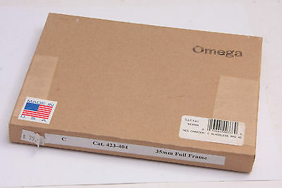 Omega C760 C67-XL Negative Carrier 35mm Full Frame Rapid 423-404 NEW SEALED N848