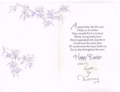 Autograph Greeting Card  Signed By Heather O'Rourke Autograph Poltergeist