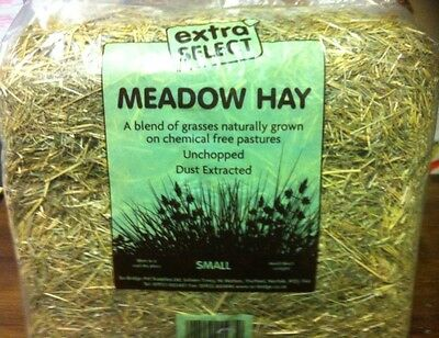Meadow Hay Rabbit Bedding Feed Natural Small Animal Chemical Free Blend Of Grass