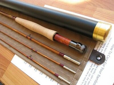 Bamboo Fly Rod 7-1/2'  3section.  2 Tips  5 Wt.