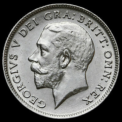1911 George V Silver Sixpence – UNC #2