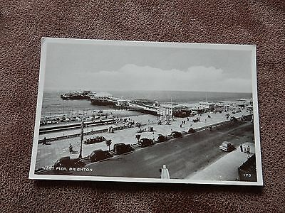 Early Postcard - West Pier -  Brighton - Sussex