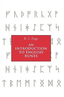 An Introduction to English Runes (Paperback), Page, R. I., 9780851159461