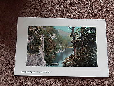 Early Postcard-Stybarrow Crag Ullswater -Cumbria Lake District