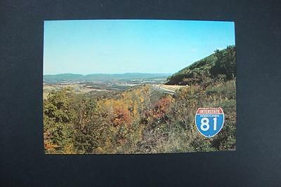 182) Interstate 81 Along The Conyngham Valley Between Hazleton & Wilkes-Barre Pa