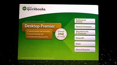 Intuit Quickbooks Desktop Premier 2017 Small Business Accounting May 2020