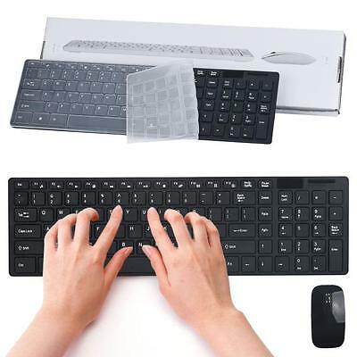 Newly 2.4G Multimedia Wireless Mouse and Keyboard Set for Desktop Laptop PC B1