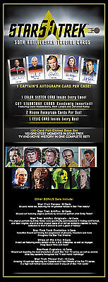 Star Trek 50Th Anniversary Factory Sealed Box (24 Packs) With Promo P1