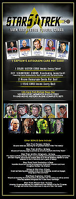 Star Trek 50Th Anniversary Factory Sealed Box (24 Packs) With Binder++