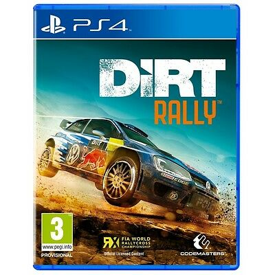 Dirt Rally PS4 Game Brand New