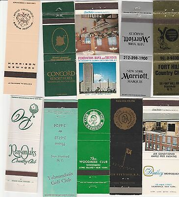 Lot Of 20 Different New York Matchbook Covers.  #4