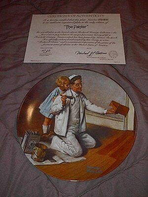 """The Painter"" Seventh in the Rockwell Heritage Collection"