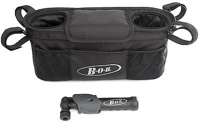 BOB Handlebar Console Organizer with Pump For Single Stroller S876600 NEW