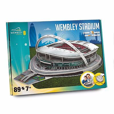 Wembley Football Stadium 3D Jigsaw Puzzle 89 Pieces