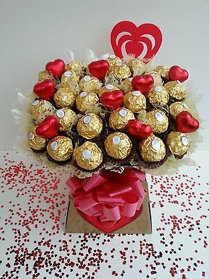 VALENTINES DAY Ferrero Rocher Large Chocolate Bouquet Sweet Tree - Perfect Gift
