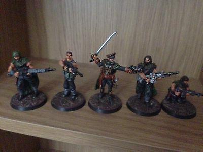One Off Custom Converted Gaunt And Ghosts For 54mm Inquisitor Pro Painted