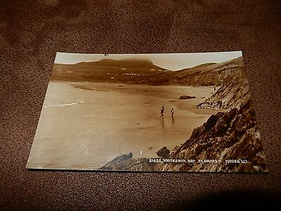 Judges postcard- Whitesand Bay -St David's - Pembrokeshire  Wales
