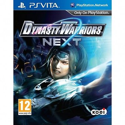 Dynasty Warriors Next Game PS Vita Brand New