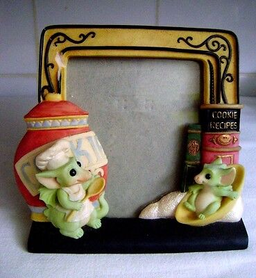 1999 Real Musgrave/cwsl Whimsical World Of Pocket Dragons 'cookie' Picture Frame