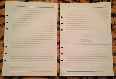 Genuine Mulberry paper stationery A5 New but vintage - Lined pale blue