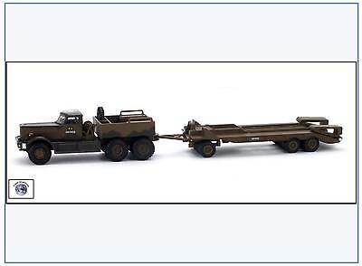 DT002 Diamond T980 Tank Transporter,1st Canadian Army, Italien 1943,Oxford 1:76&