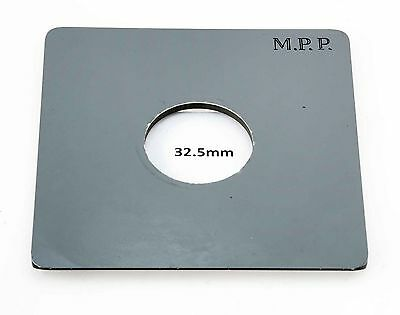 M.P.P Lens Board (32.5mm Hole) - For The Mk.8 Field Camera, Will Not Fit Earlier
