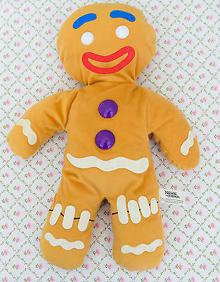 Gingy Gingerbread Man Soft Toy Dreamworks Shrek the Third 17 inches