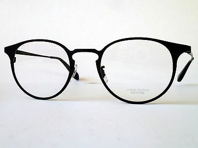 Oliver Peoples WILDMAN Eye Glasses Frames in 5017 Matte Black Titanium