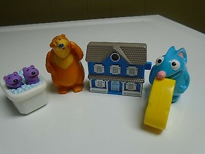 Rare 1999 Subway Bear In The Big Blue House Figures Bear Pip PopTutter