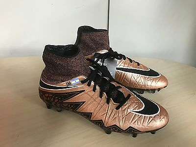 Nike Hypervenom Phantom Pro II DF  FG Football Boots Uk 8 Bronze/Black rrp £235