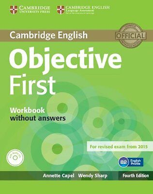 Objective First Workbook without Answers with Audio CD, Sharp, Wendy, Capel, Ann