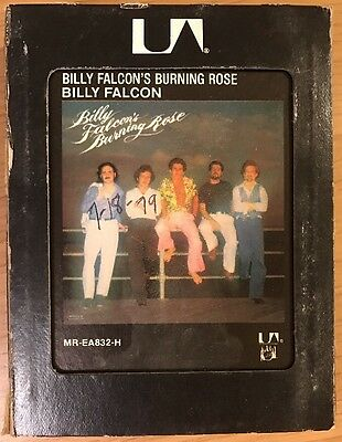 Billy Falcon / Billy Falcon's Burning Rose  / 8 Track Cassette Tape 1978