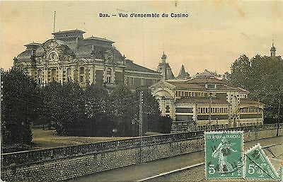 40 Dax Vue D'ensemble Du Casino - Carte Toilee