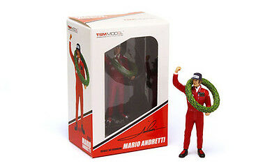 "Figure: Mario Andretti Lotus F1 Team ""Winner GP France"" 1977 (TSM 1:18 / 13AC01)"