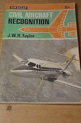 1965 Civil Aircraft Recognition By John Wr Taylor - Full Of Pictures And Info