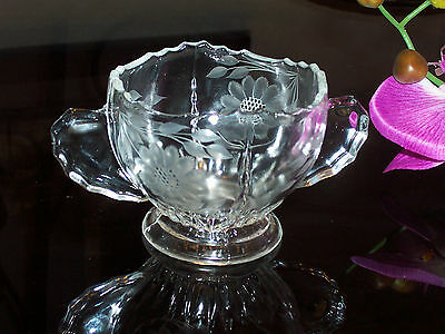 Hughes Cornflower - Early Pre 1940 Sugar Bowl