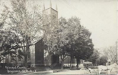 Episcopal Church, Vergennes,vermont, Real Photo, Postmarked 1913, Horse & Buggy