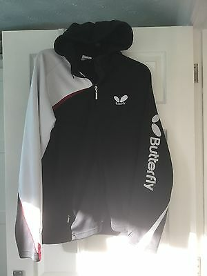 Butterfly Table Tennis Hooded Top Size L