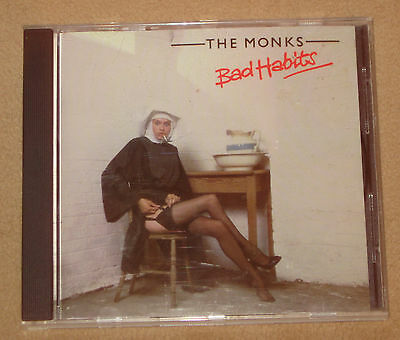 Bad Habits by The Monks CD EMI 1979 OOP RARE Canada Pressing