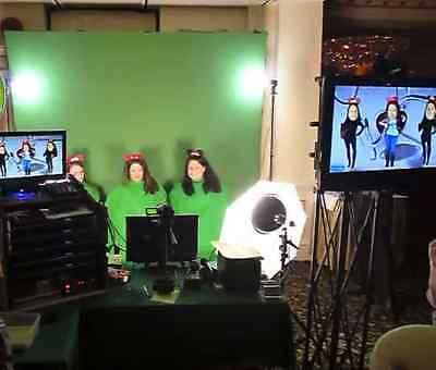 Bopping Heads Superimposed Heads, Green Screen Video Photo Booth , Business