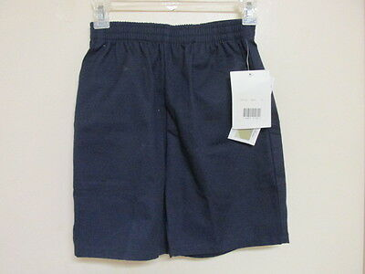 NAVY ELASTIC WAIST SHORTS by CLASS ROOM-SIZE 10 - NEW WITH TAG