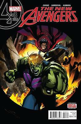 NEW AVENGERS #3, New, First Printing, Marvel Comics (2015)