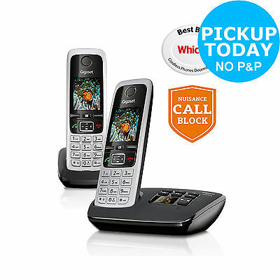 Gigaset C430A X2 Cordless Telephone TAM - Silver. From the Argos Shop on ebay