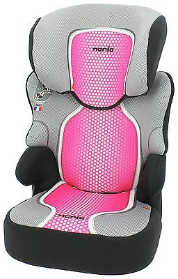 Nania Groups 2-3 Befix SP First Pop Pink Booster Car Seat. From Argos on ebay