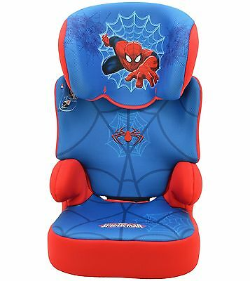 TT Marvel Spiderman Groups 2-3 Blue Booster Car Seat. The Official Argos Store