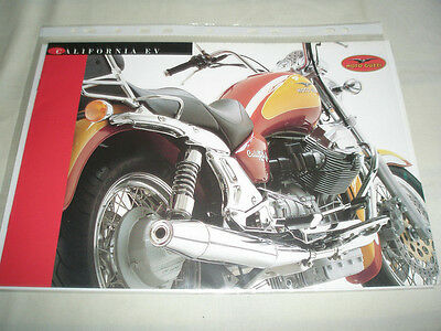 Moto Guzzi California EV brochure undated