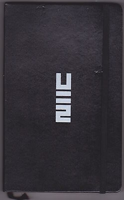 U2 - No Line On The Horizon - Rare promo only Moleskine notebook (2)
