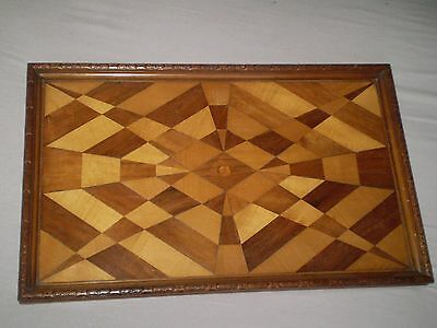 Vintage Antique, Wooden Tray....stunning Deisgn, Restoration Project