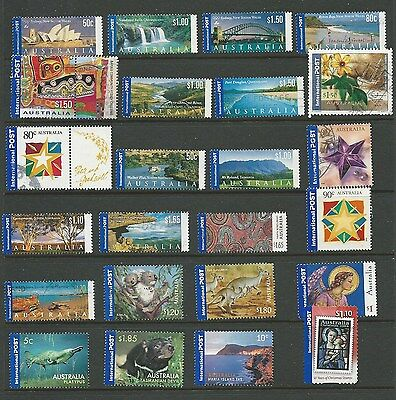 Selection of F/U Australia International Post Stamps (39)